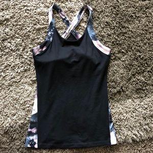 Women's athletic tank top.